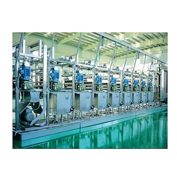 Continuous Narrow Fabric Dyeing Machine