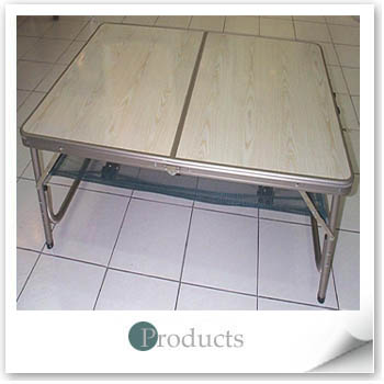 FOLDING TABLE W/NET
