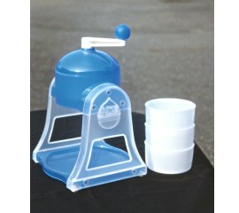 Manual ice shaver