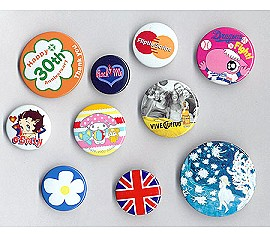 tine button badge