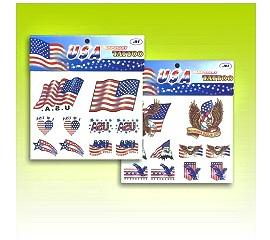 美國國旗紋身