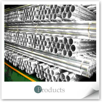 Post-Hot-Dip Zinc-Coated Steel Pipes