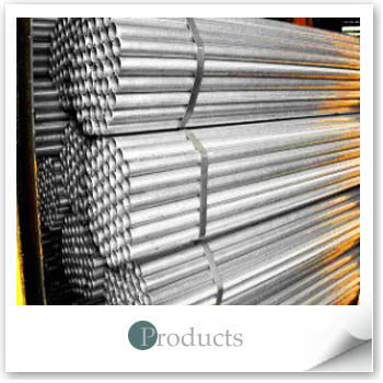 Pre-Hot-Dip Zinc-Coated Steel Pipes