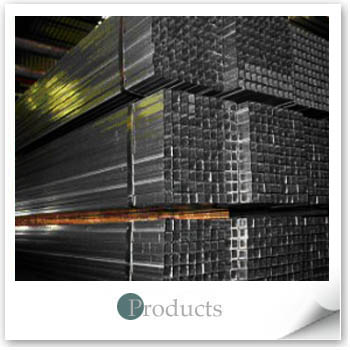 Pre-Hot-Dip Zinc-Coated Steel Square Pipes