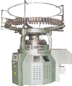 GEAR-DRIVEN DOUBLE CIRCULAR KNITTING MACHINE