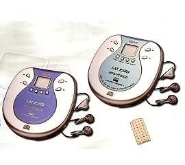 液晶冷光VCD/MP3/CD隨身聽