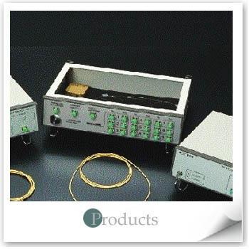 光通訊元件原理及特性參數量測教學系統