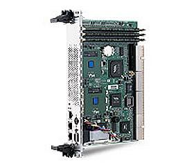 6U 64bit/66MHz CompactPCI Dual Tualatin CPU Module with DDR, Triple LANs and VGA