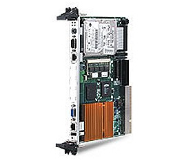 6U CompactPCI Single Slot Low Power Pentium-III CPU Module with PMC, VGA, 2 COM port, LAN, CompactFl