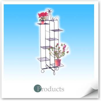 Collapsible gardening rack