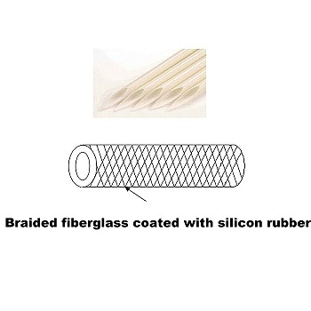 Fiberglass Sleeving Coated with Silicon Rubber