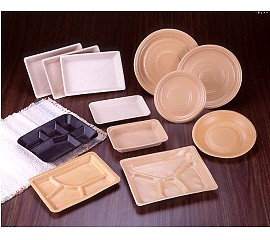 環保盤類(米糠製成)