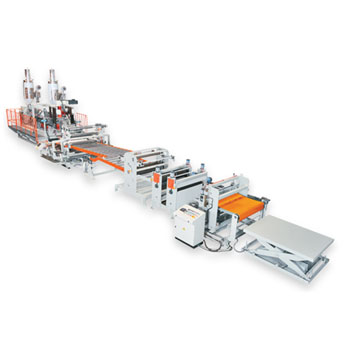 Flat/Corrugated Extrusion Sheet Line / PC & ABS Sheet Extrusion Line