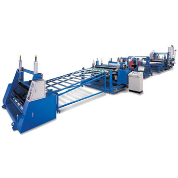 Flat/Corrugated Extrusion Sheet Line / PMMA, PC Flat & Corrugated Sheet Production Equipment