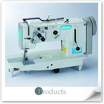 獵鷹工業用雙針綜合送平車型縫紉機