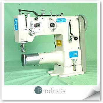 獵鷹工業用綜合送筒型縫紉機