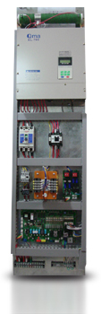 Room Less Elevator Control Panel for VVVF System