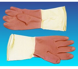 橡膠手套(家庭用-雙色)