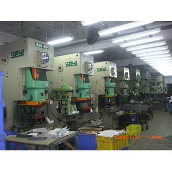 Stamping Machinery (Our Plant Equipment)