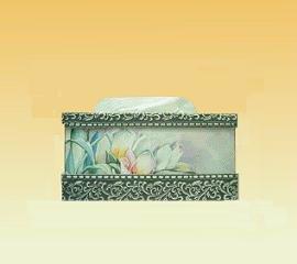 TWO-PIECE TISSUE BOX HOLDER