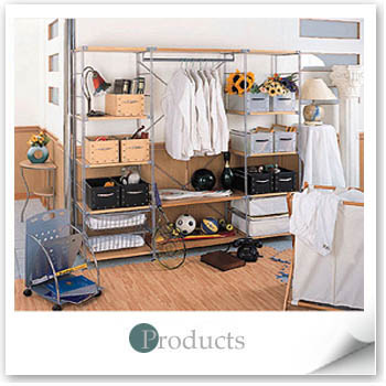 Bed Room - Metal Wire (Coat Rack/Partition Series)