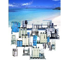Water treatment system various type