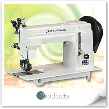 double-needle mocca sewing machine