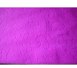針織刷毛巾(雙刷單搖)