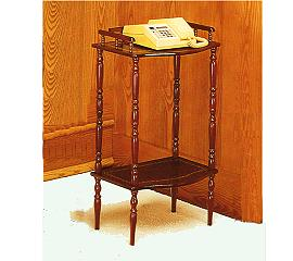 2-TIER TELEPHONE TABLE
