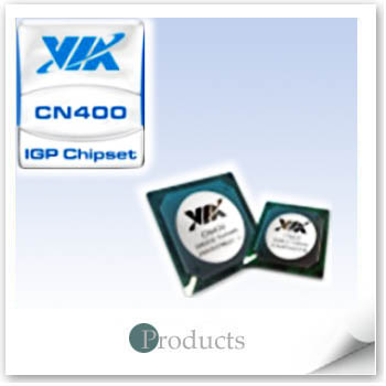 Integrated core logic chipset- CN400