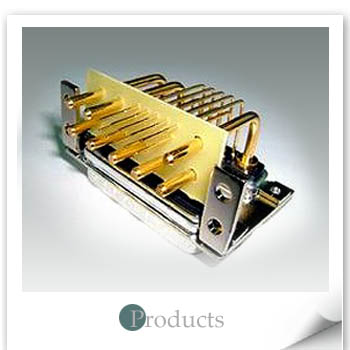 D-sub high power right-angle 13W3Male+5W5Male