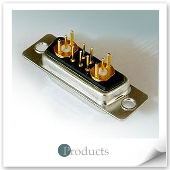 Coaxial Straight Type 7W2 Female 50 or 75 ohms