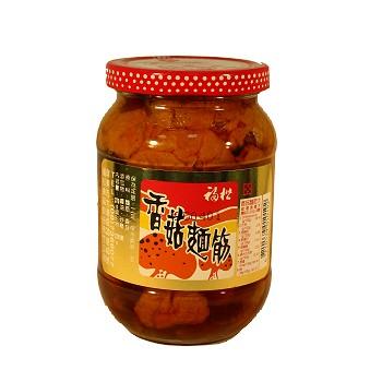 福松大大的《香菇》守護柔柔的《麵筋》