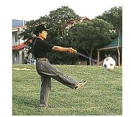 足球練習器(袋)
