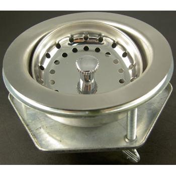 3-Bolt s.s. sink strainer